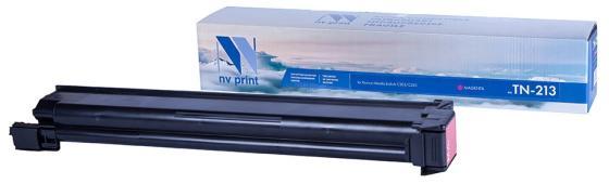 Фото - Тонер-картридж NVP совместимый NV-TN-213 Magenta для Konica-Minolta bizhub: C203/ C253 (19000k) картридж nv print tn 213 black
