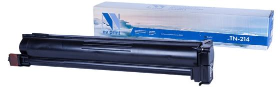 Тонер-картридж NVP совместимый NV-TN-214 Black для Konica-Minolta bizhub: C200 (24000k) картридж nv print tn 2175t для brother совместимый
