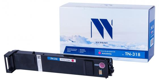 Фото - Тонер-картридж NVP совместимый NV-TN-318 Magenta для Konica-Minolta bizhub: C20/ C20P (8000k) картридж nvp совместимый nv tn 321t magenta для brother hl l8250cdn 1500k