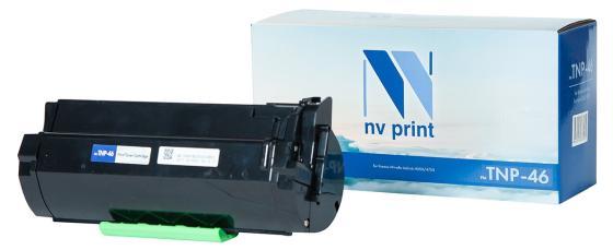 Фото - Тонер-картридж NVP совместимый NV-TNP-46 для Konica-Minolta bizhub 4050/4750 (20000k) тонер konica minolta bizhub c25 желтый tnp 27y