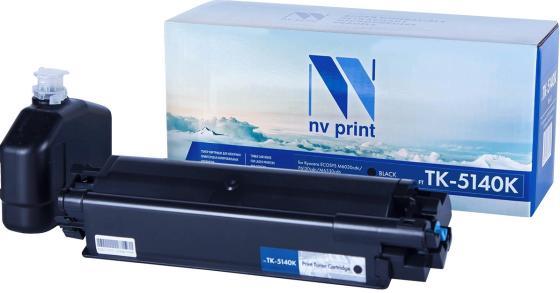 Фото - Картридж NVP совместимый NV-TK-5140 Black для Kyocera ECOSYS M6030cdn/ M6530cdn/ P6130cdn (7000k) картридж nv print nvp tk 715 для kyocera 3050 4050 5050 34000k
