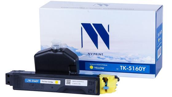 Фото - Картридж NVP совместимый NV-TK-5160 Yellow для Kyocera ECOSYS P7040cdn (12000k) тонер картридж nvp совместимый nv tk 8325 cyan для kyocera taskalfa 2551ci 12000k
