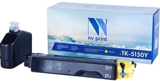 Фото - Картридж NVP совместимый NV-TK-5150 Yellow для Kyocera ECOSYS M6035cidn/ M6535cidn/ P6035cdn (10000k) картридж nvp совместимый nv tk 5150 magenta для kyocera ecosys m6035cidn m6535cidn p6035cdn 10000k