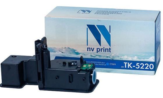 Фото - Картридж NVP совместимый NV-TK-5220 Cyan для Kyocera Ecosys M5521cdn/ M5521cdw/ P5021cdn/ P5021cdw (1200k) картридж nv print tk 5230 cyan для kyocera совместимый