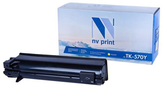 Фото - Картридж NVP совместимый NV-TK-570 Yellow для Kyocera Ecosys P7035/ P7035cdn/ FS C5400DN (12000k) картридж nvp совместимый nv tk 5160 magenta для kyocera ecosys p7040cdn 12000k