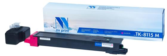 Фото - Картридж NVP совместимый NV-TK-8115 Magenta для Kyocera EcoSys-M8124/EcoSys-M8130 (6000k) картридж nv print nvp tk 715 для kyocera 3050 4050 5050 34000k