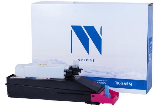 Фото - Картридж NVP совместимый NV-TK-865 Magenta для Kyocera TASKalfa 250ci/300ci (12000k) картридж nv print tk 865 cyan для kyocera совместимый