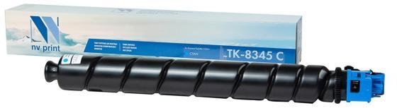 Фото - Тонер-картридж NVP совместимый NV-TK-8345 Cyan для Kyocera Taskalfa-2552ci (12000k) картридж nv print tk 865 cyan для kyocera совместимый