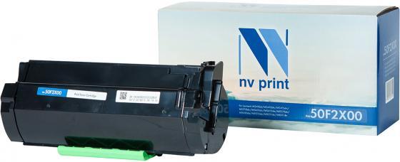 Фото - Картридж NVP совместимый NV-50F2X00 для Lexmark MS410d/MS410dn/MS415dn/MS510dn/MS610dn/MS610de/MX310de/MX410de/MX510de/MX511de/MX611de (10000k) картридж nv print 51b5h00 для lexmark совместимый
