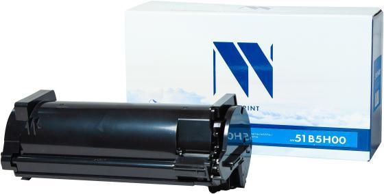 Фото - Картридж NVP совместимый NV-51B5H00 для Lexmark MS417dn/MX417dn/MS517dn/MX517de/MS617dn/MX617de (8500k) картридж nv print 51b5h00 для lexmark совместимый
