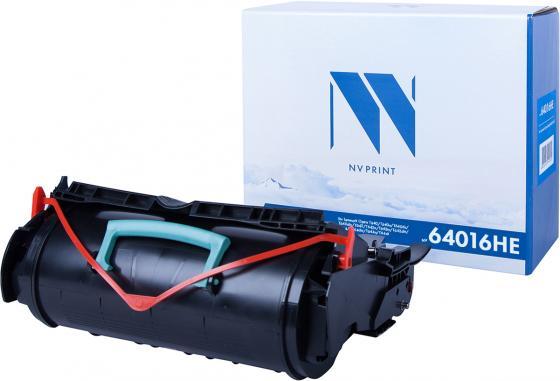 Фото - Картридж NVP совместимый NV-64016HE для Lexmark Optra T640dn/ T640dtn/ T642dtn/ T644n/ T644/ T642n/ T642tn/ T640n/ T642/ T640/ T644dtn/ T644tn (21000k) картридж nv print 51b5h00 для lexmark совместимый