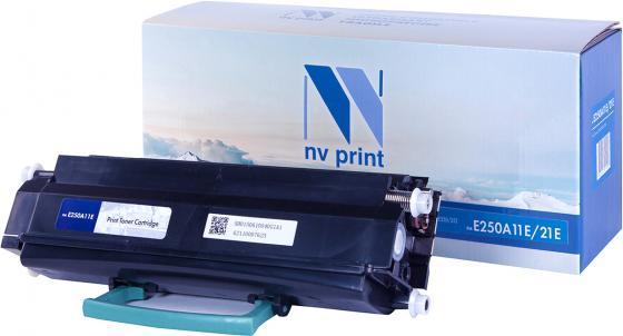 Фото - Картридж NVP совместимый NV-E250A11E/21E для Lexmark Optra E250/ E250D/ E250DN/ E350/ E350D/ E350DN/ E352/ E352DN (3500k) картридж nv print 51b5h00 для lexmark совместимый