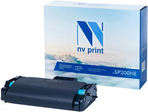 Фото - Картридж NVP совместимый NV-SP200HE для Ricoh Aficio SP200/SP202/SP203/SP210/SP212 (2600k) картридж nvp совместимый nv sp4500he для ricoh aficio sp 4510dn 4510sf 12000k