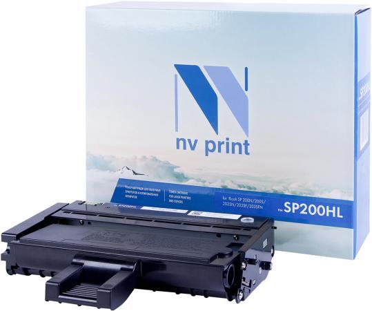 Фото - Картридж NVP совместимый NV-SP200HL для Ricoh Aficio SP 200N/ 200S/ 202SN/ 203SF/ 203SFN (1500k) картридж nvp совместимый nv sp4500he для ricoh aficio sp 4510dn 4510sf 12000k