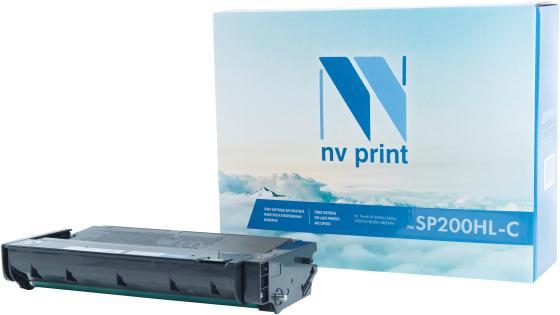 Фото - Картридж NVP совместимый NV-SP200HL-С для Ricoh Aficio SP 200N/ 200S/ 202SN/ 203SF/ 203SFN (1500k) картридж nvp совместимый nv sp4500he для ricoh aficio sp 4510dn 4510sf 12000k