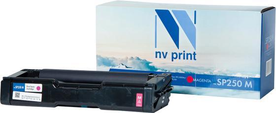 Фото - Картридж NVP совместимый NV-SP250 Magenta для Ricoh Aficio SPC250DN/SPC260/SPC261 (1600k) картридж nv print sp250 yellow для ricoh совместимый