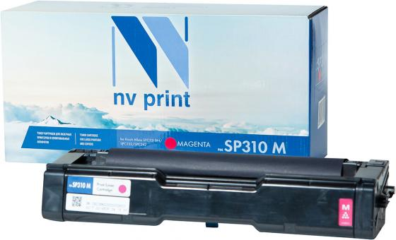 Картридж NVP совместимый NV-SP310 Magenta для Ricoh Aficio SPC231DN/SPC232/SPC242 (2500k) картриджnvp совместимый nv mpc3503 yellow для ricoh aficio mpc3003 mpc3004 mpc3503 mpc3504 18000k