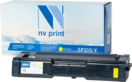 Картридж NVP совместимый NV-SP310 Yellow для Ricoh Aficio SPC231DN/SPC232/SPC242 (2500k) картриджnvp совместимый nv mpc3503 yellow для ricoh aficio mpc3003 mpc3004 mpc3503 mpc3504 18000k
