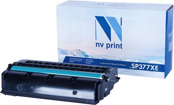 Картридж NVP совместимый NV-SP377XE для Ricoh Aficio SP 377DNwX/ 377SFNwX (6400k) картриджnvp совместимый nv mpc3503 yellow для ricoh aficio mpc3003 mpc3004 mpc3503 mpc3504 18000k