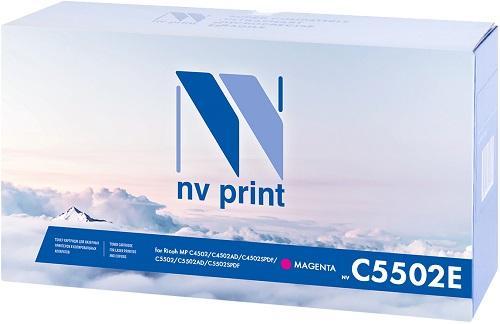 Фото - Тонер-картридж NV-Print MPC5502EM для Ricoh Aficio MP C4502 C4502AD C4502SPDF Aficio MP C5502 C5502AD C5502SPDF 22500стр Пурпурный картридж nvp совместимый nv mp3354 для ricoh aficio mp 2554 mp 3054 24000k