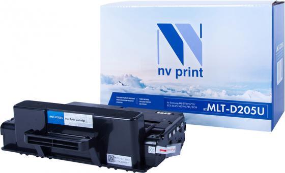 Фото - Картридж NVP совместимый NV-MLT-D205U для Samsung ML 3710/ 3712/ SCX-5637/ 5639/ 5737/ 5739 (15000k) картридж nv print mlt d307l для samsung ml 4510nd 5010nd 5015nd 15000k