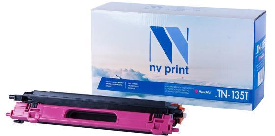 Фото - Картридж NV-Print NV-TN135TM для Brother DCP-9040CN HL-4040CN HL-4050CDN MFC-9440CN MFC-9450CDN 4000стр Пурпурный картридж brother tn421m для brother hl l8260 8360 dcp l4810 mfc l8690 8900 пурпурный 1800стр