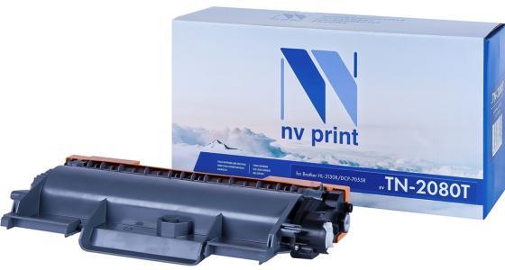 Фото - Картридж NV-Print NV-TN2080T для Brother DCP-2130R DCP-7055R DCP-7055 DCP-7055WR HL-2130 700стр Черный картридж nv print tn 2090 для brother hl 2132r dcp 7057r dcp 7057w 1000стр черный