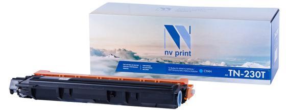 Фото - Картридж NV-Print TN-230T для Brother HL-3040CN HL-3070CW DCP-9010CN MFC-9120CN MFC-9320DW 1400стр Голубой картридж nv print tn 230t для brother hl 3040cn hl 3070cw dcp 9010cn mfc 9120cn mfc 9320dw 1400стр желтый