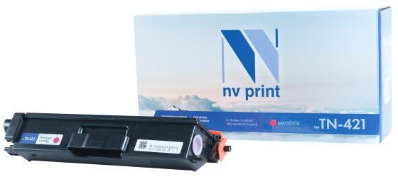 Фото - Картридж NV-Print TN-421 M для Brother HL-L8260 MFC-L8690 DCP-L8410 1800стр Пурпурный картридж brother tn421m для brother hl l8260 8360 dcp l4810 mfc l8690 8900 пурпурный 1800стр