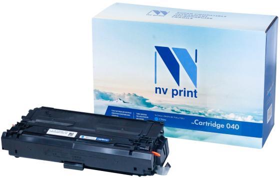 Фото - Картридж NV-Print 040 C для Canon i-SENSYS LBP 710Cx i-SENSYS LBP 712Cx 5400стр Голубой картридж nv print совместимый canon 726 для lbp 6200d 2100k