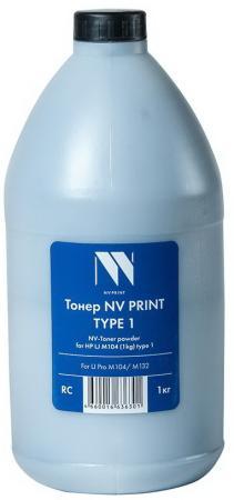 Фото - Тонер NV PRINT NV-HP LJ M104 (1кг) type 1 для HP LaserJet Pro M104/M132 (Китай) тонер nv print nv samsung xerox 1кг