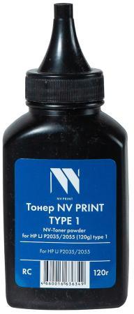 Фото - Тонер NV PRINT NV-HP LJ P2035/2055 (120 г) type 1 для LaserJet P2035/2055 (Китай) картридж superfine hp2055 290b os для hp lj p2035 2055 черный 290гр