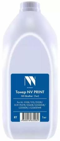 Фото - Тонер NV PRINT TYPE1 for Brother HL-2140/2150/2170w,2030/2040/2045/2070n/2075n/6050d,DCP-7010/7020/7025/MFC7220/7225n/7420/7820 (1KG) sexy long sleeve plunging neckline floral print slit cover up for women
