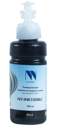 Фото - Чернила NV-INK100 Black универсальные на водной основе для аппаратов Canon (100 ml) (Китай) стиральный порошок miyoshi miyosh на основе натуральных компонентов 100707