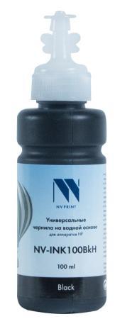 Фото - Чернила NV-INK100 Black универсальные на водной основе для аппаратов НР (100 ml) (Китай) стиральный порошок miyoshi miyosh на основе натуральных компонентов 100707