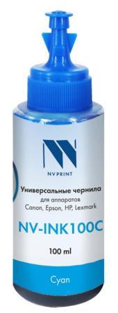 Фото - Чернила NV-INK100 Cyan универсальные на водной основе для аппаратов Canon (100 ml) (Китай) стиральный порошок miyoshi miyosh на основе натуральных компонентов 100707