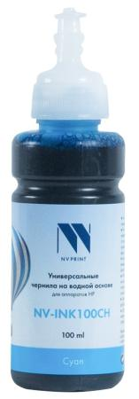Фото - Чернила NV-INK100 Cyan универсальные на водной основе для аппаратов HP (100 ml) (Китай) стиральный порошок miyoshi miyosh на основе натуральных компонентов 100707
