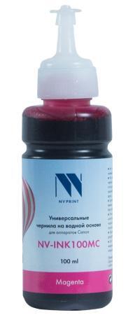 Фото - Чернила NV-INK100 Magenta универсальные на водной основе для аппаратов Canon (100 ml) (Китай) стиральный порошок miyoshi miyosh на основе натуральных компонентов 100707