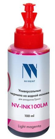 Фото - Чернила NV-INK100 Magenta универсальные на водной основе для аппаратов HP (100 ml) (Китай) стиральный порошок miyoshi miyosh на основе натуральных компонентов 100707