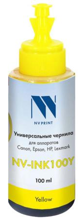 Фото - Чернила NV-INK100 Yellow универсальные на водной основе для аппаратов Canon (100 ml) (Китай) стиральный порошок miyoshi miyosh на основе натуральных компонентов 100707