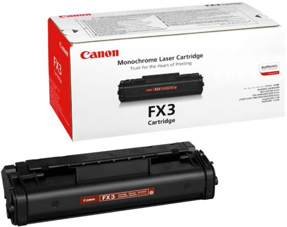 Фото - Картридж Canon FX-3 для Canon L250 L300 L4000 L90 L60 2700стр Черный картридж sakura c3906a fx3 для hp lj 5l 6l 3100 3150 1100 canon l200 l250 l300 mp l90 черный 2500 к
