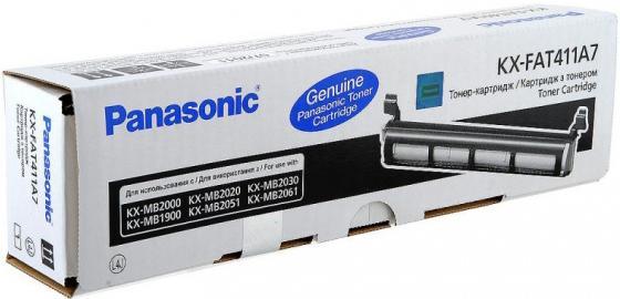 Фото - Тонер-картридж Panasonic KX-FA411А для Panasonic KX-MB2000 KX-MB2020 KX-MB2030 2000стр Черный картридж nv print kx fat411a kx fat411a kx fat411a kx fat411a для для panasonic kx fa t 411a 2000стр черный
