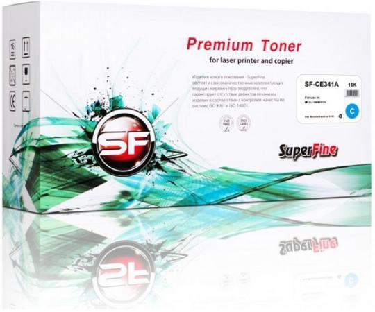 Фото - Картридж SuperFine CE341A для HP LaserJet Enterprise 700/MFP775 16000стр Голубой hp 651a ce341a
