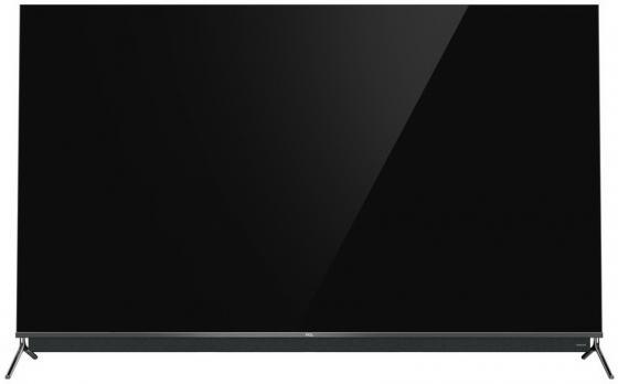Фото - Телевизор QLED TCL 65 65C815 темный металлик/Ultra HD/120Hz/DVB-T/DVB-T2/DVB-C/DVB-S/DVB-S2/USB/WiFi/Smart TV (RUS) avov android tv box dvb s2 satellite receiver with dream iptv live tv free 1000 iptv channels eternally ipremium i7 ulive