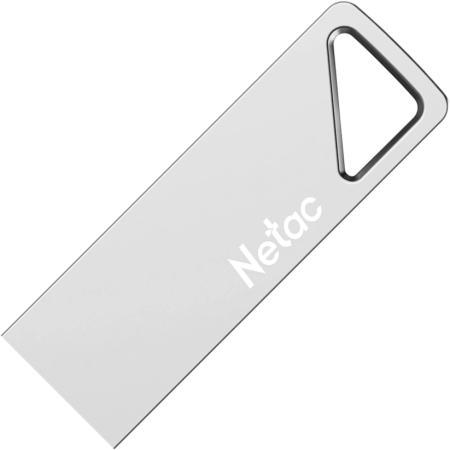 Фото - Флеш Диск Netac U326 8Gb <NT03U326N-008G-20PN>, USB2.0, металлическая плоская usb flash drive 8gb netac u197 nt03u197n 008g 20bk