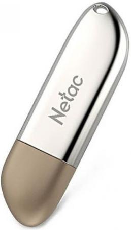 Фото - Флеш Диск Netac U352 8Gb <NT03U352N-008G-20PN>, USB2.0, с колпачком, металлическая usb flash drive 8gb netac u197 nt03u197n 008g 20bk