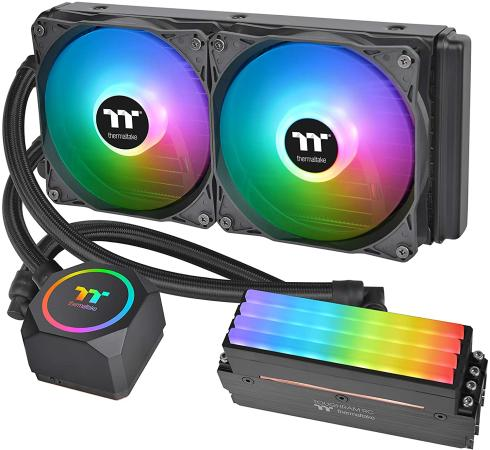 Фото - Floe RC240 CPU&Memory AIO Liquid Cooler [CL-W271-PL12SW-A] /All-in-one liquid cooling system/ARGB Fan*2/memory not include icue h115i elite capellix liquid cpu cooler [cw 9060047 ww]