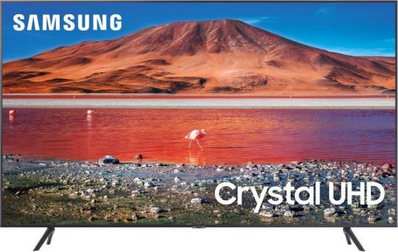 Фото - Телевизор LED 55 Samsung UE55TU7090UXRU титан 3840x2160 60 Гц Wi-Fi Smart TV 2 х HDMI USB RJ-45 CI+ Bluetooth телевизор led 32 samsung ue32t4500auxru черный 1366x768 60 гц smart tv wi fi usb rj 45