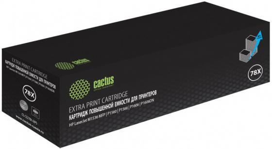 Фото - Картридж лазерный Cactus CS-CE278X-MPS черный (3000стр.) для HP LJ P1566/P1606w тонер картридж cactus cs cf283xl mps черный 3000стр для hp lj m1130 mfp m1132s pro m1137 pro p1102w pro