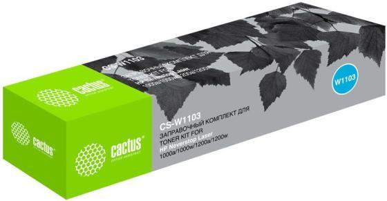 Фото - Картридж лазерный Cactus CS-W1103 черный (2500стр.) для HP Neverstop Laser 1000/1200 картридж cactus cs c4836 11 для hp 2000 2500 business inkjet 1000 1100 1200 2200 2300 2600 2800 голубой